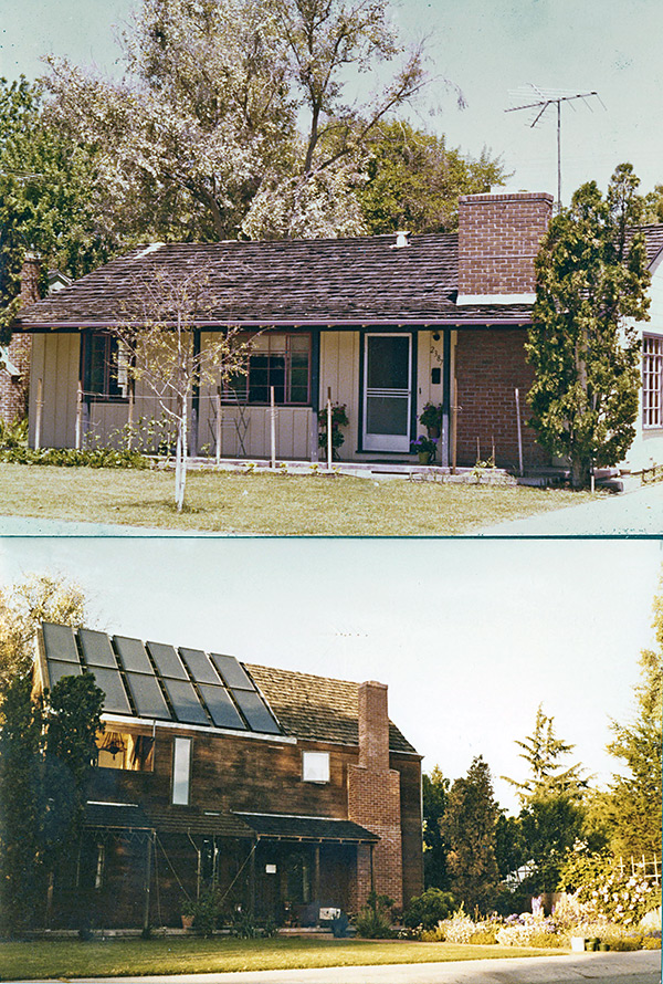Residence, Palo Alto, Before & After