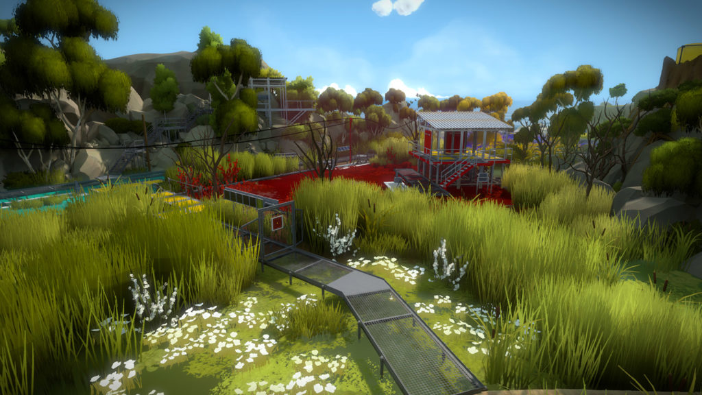 The Witness video game screen capture